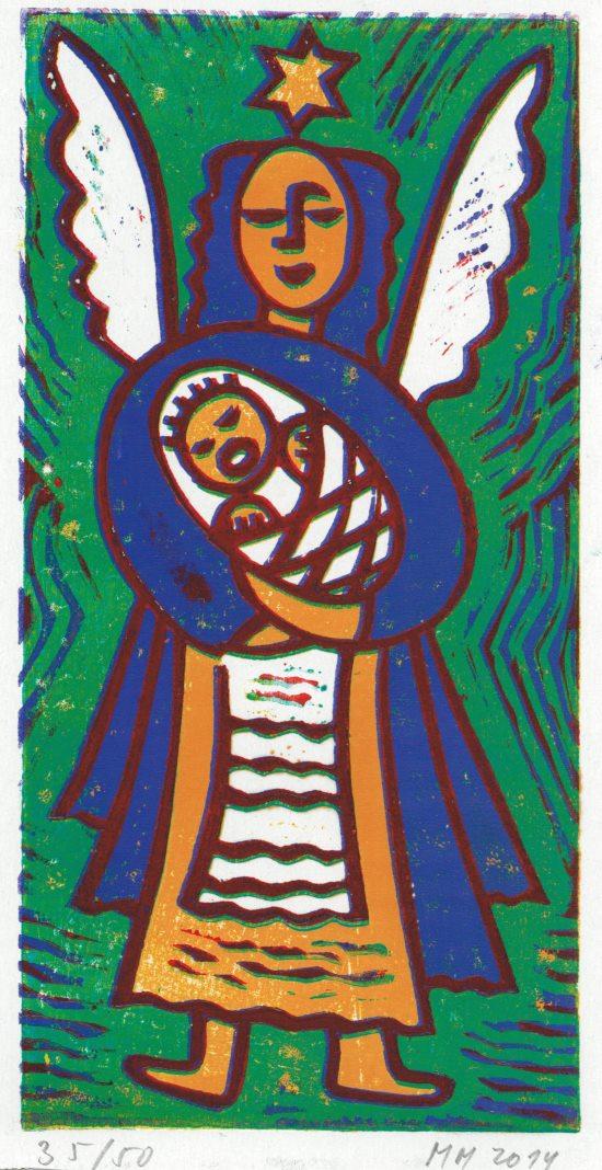Anděl s Ježíškem